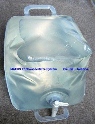 Wasserkanister 20L POLITAINER faltbar