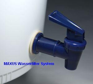 MAXUS Trinkwasserfilter-System Zapfhahn